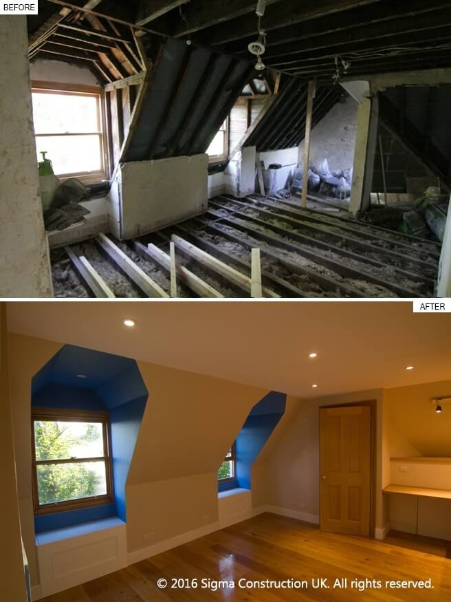 Hampstead house refurbishment